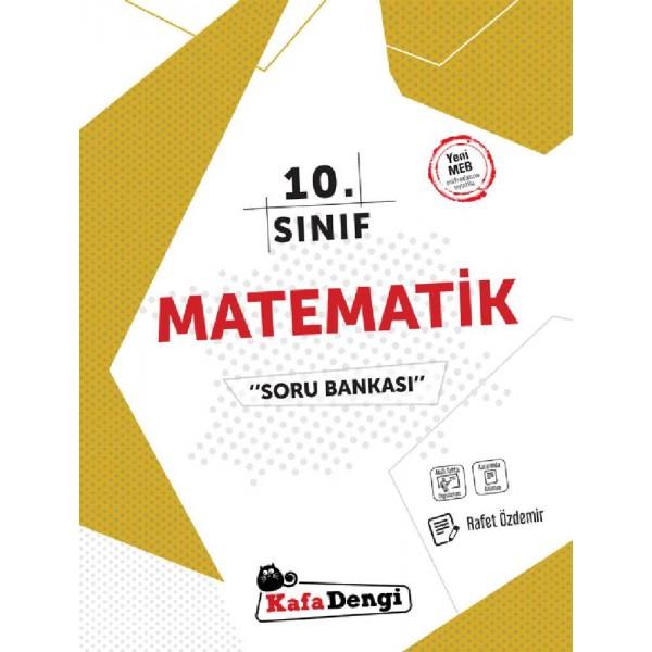 10.Sınıf Kafa Dengi Matematik Soru Bankası (Tümü Video Çözümlü)