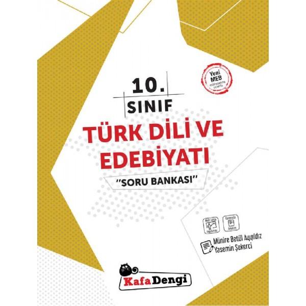 10.Sınıf Kafa Dengi Türk Dili ve Edebiyatı Soru Bankası