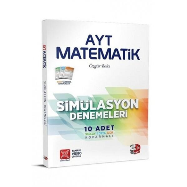 3D AYT Matematik Simülasyon 10 Deneme