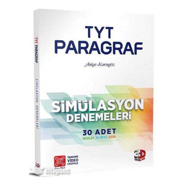 3D TYT Paragraf Simülasyon 30 Deneme