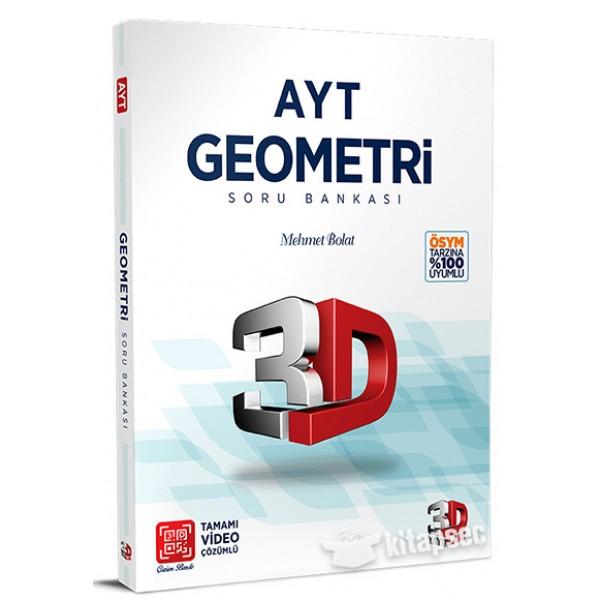 3D AYT Geometri Soru Bankası