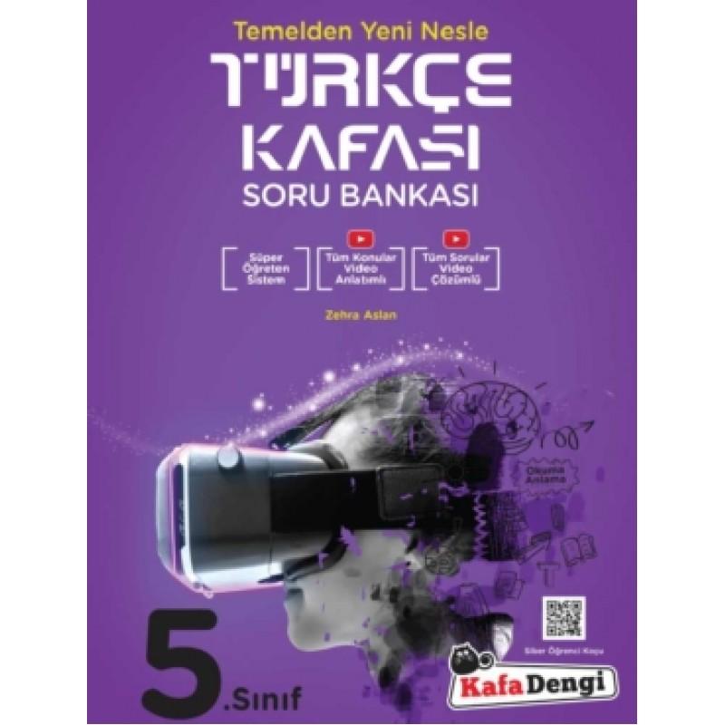 5.Sınıf Kafa Dengi Türkçe Kafası Soru Bankası (Tümü Video Çözümlü)