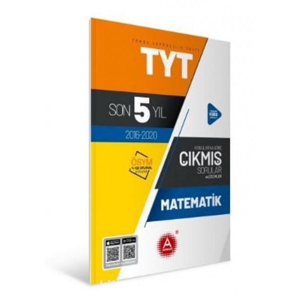 A Yayınları TYT Matematik Son 5 Yıl Tamamı Çözümlü Çıkmış Sorular