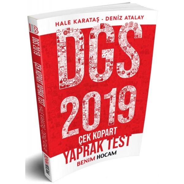 Benim Hocam 2019 DGS Çek Kopart Yaprak Test