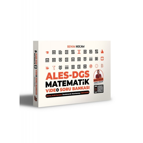 Benim Hocam 2021 ALES DGS Matematik Video Soru Bankası