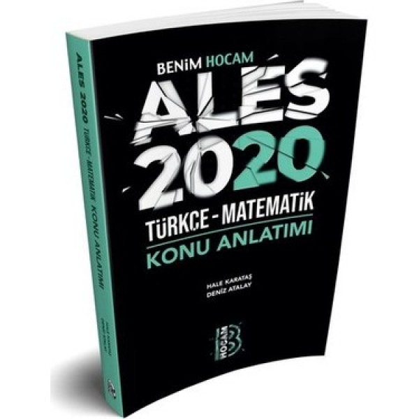 Benim Hocam 2020 ALES Türkçe-Matematik Konu Anlatımı