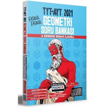Benim Hocam 2021 TYT AYT Geometri Soru Bankası 4 Deneme Sınavı İlaveli Pragmatik Serisi