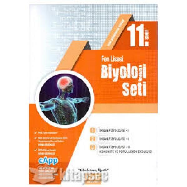 11.SINIF ÇAP BİYOLOJİ SETİ -2021
