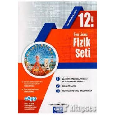 12.SINIF ÇAP FEN LİSESİ FİZİK SETİ -2020-2021