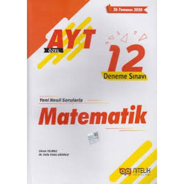 Nitelik AYT Matematik Özel 12 Deneme Sınavı