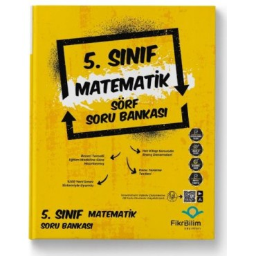 5.SINIF FİKRİBİLİM MATEMATİK SORU BANKASI