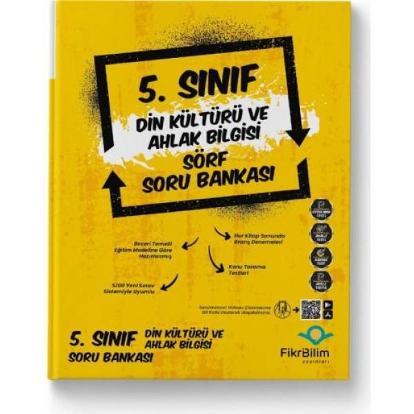 5.SINIF FİKRİBİLİM YAYINLARI DİN KÜLTÜRÜ SORU BANKASI