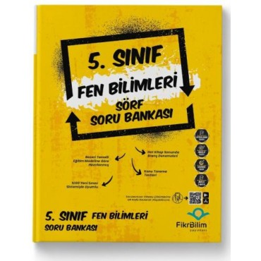 5.SINIF FİKRİBİLİM FEN BİLİMLERİ SORU BANKASI