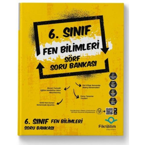6.SINIF FEN BİLİMLERİ SORU BANKASI