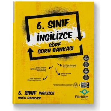 6.SINIF FİKRİBİLİM İNGİLİZCE SORU BANKASI