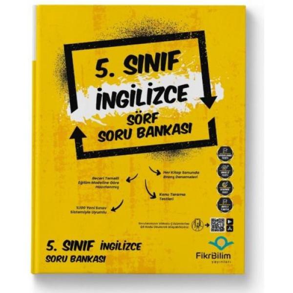 5.SINIF FİKRİBİLİM İNGİLİZCE SORU BANKASI