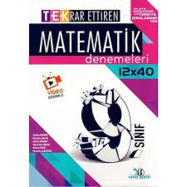 9.SINIF TEK DENEME MATEMATİK  12X40