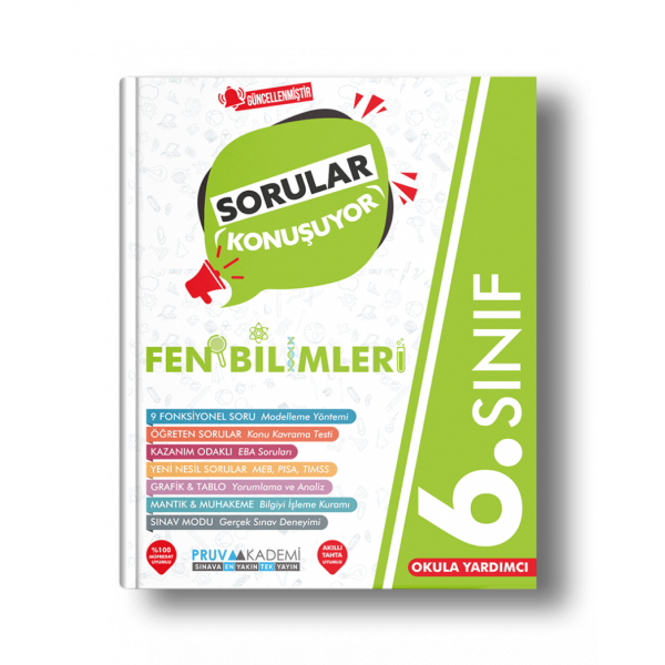 6. SINIF FEN BİLİMLERİ SORU BANKASI
