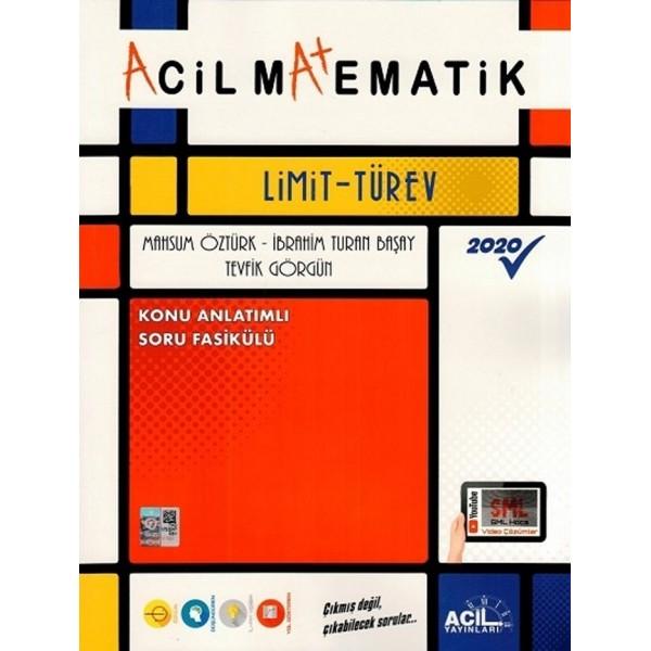 AYT ACİL MATEMATİK KA-SB LİMİT - TÜREV - 2020