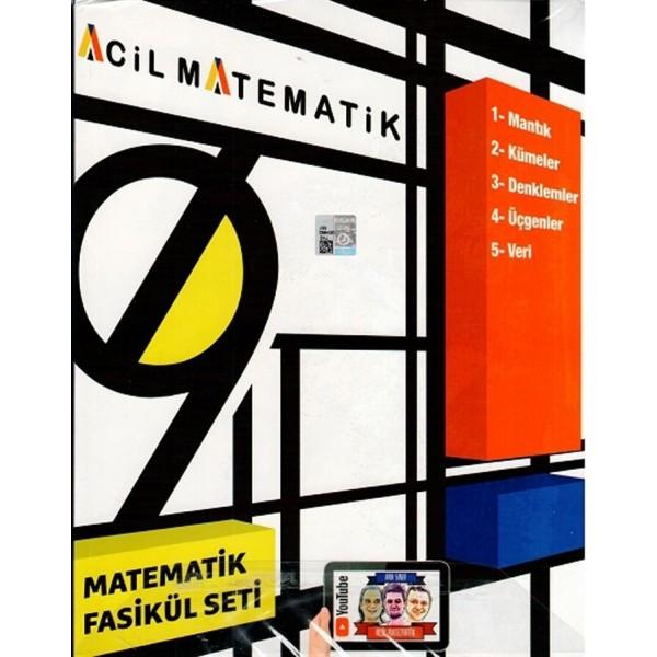 ACİL 9 MATEMATİK SETİ (6 FASİKÜL)