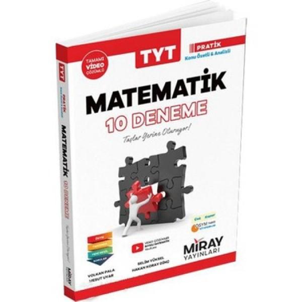 Miray Yayınları TYT Matematik 10'lu Deneme