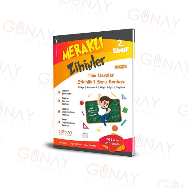 Günay Yayınları 2.Sınıf Meraklı Zihinler Etkinlikli Soru Bankası