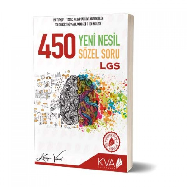 8. SINIF KORAY VAROL 450 YENİ NESİL SÖZEL SORU BANKASI