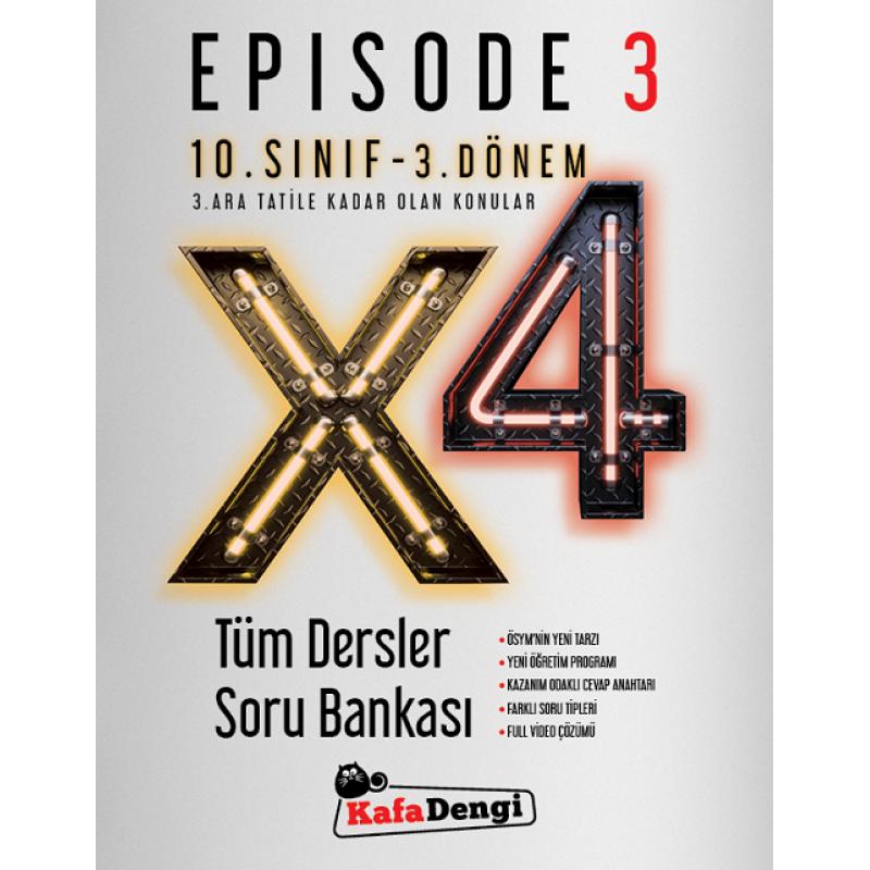 10.Sınıf Kafa Dengi Tüm Dersler Soru Bankası / Episode 3 (Tümü Video Çözümlü)